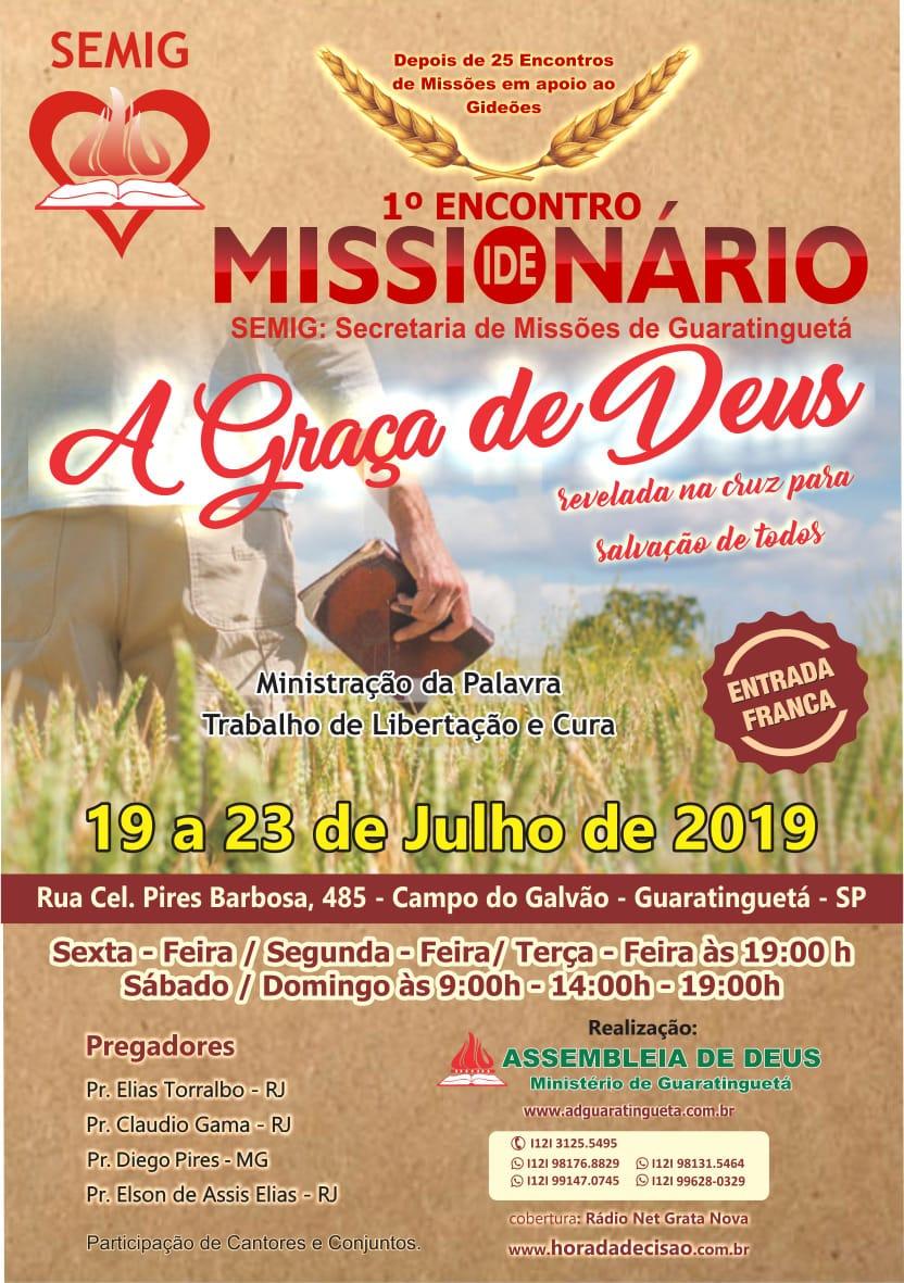 1° Encontro Missionário